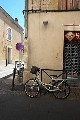 Bicycle Aigues Mortes France Art Print