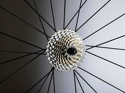 Bicycle Cassette Art Print by Science Photo Library