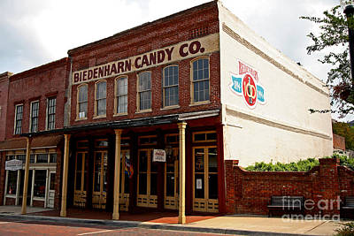 Biedenharn Candy Co Art Print by Russell Christie