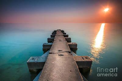 Photograph - Big Bay by Ryan Heffron