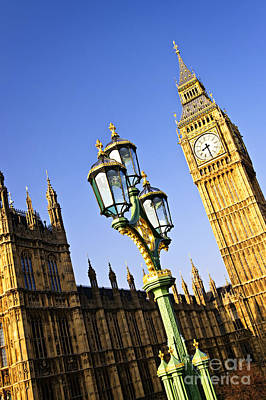 London Photograph - Big Ben And Palace Of Westminster by Elena Elisseeva