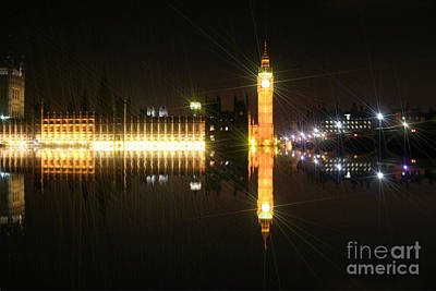 Photograph - Big Ben And The Houses Of Parliament On The Thames by Doc Braham