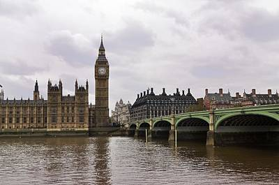 Photograph - Big Ben by Andres LaBrada