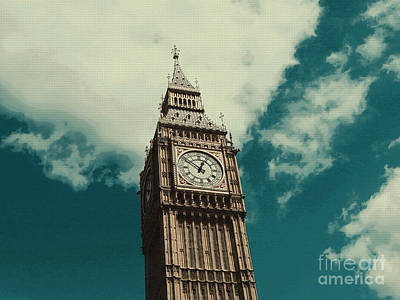 Big Government Mixed Media - Big Ben In London by Celestial Images