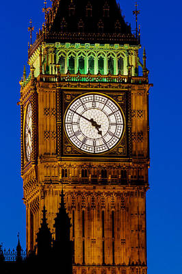 Photograph - Big Ben London by David Pyatt