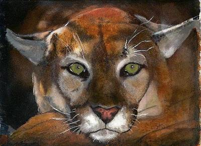 Painting - Big Cat by John Brisson