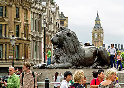 Photograph - Big Lion Little Ben by Keith Armstrong