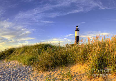 Lighthouse Photograph - Big Sable Lighthouse by Twenty Two North Photography