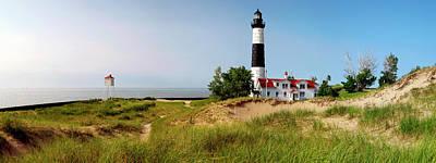 Big Sable Point Lighthouse, Lake Art Print