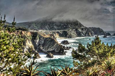 Photograph - Big Sur Coast 2 by SC Heffner