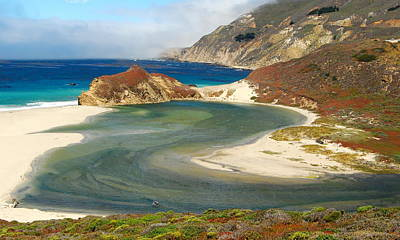 Photograph - Big Sur by Mamie Gunning