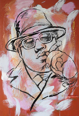 The Main Mixed Media - Biggie Smalls Art Painting Poster by Kim Wang