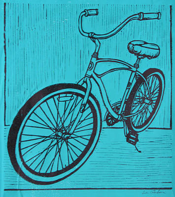 Drawing - Bike 6 by William Cauthern