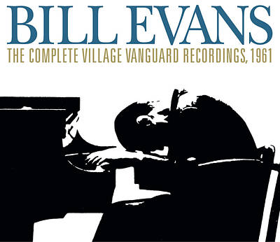 Jazz Digital Art - Bill Evans -  The Complete Village Vanguard Recordings, 1961 by Concord Music Group