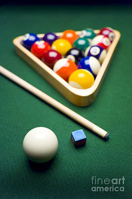 Photograph - Billiards by Tony Cordoza