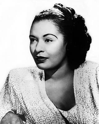 Vocal Photograph - Billie Holiday by Retro Images Archive