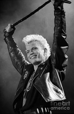 Billy Idol Photograph - Billy Idol by Concert Photos