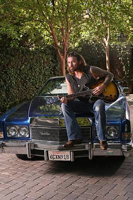 Photograph - Billy Ray Cyrus In Los Angeles by Jim Steinfeldt
