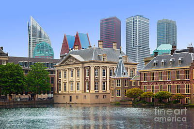 Business Photograph - Binnenhof Palace Dutch Parlament In The Hague by Michal Bednarek