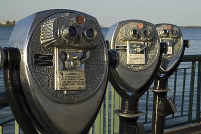 Open Impressionism California Desert - Binoculars by Gary Marx