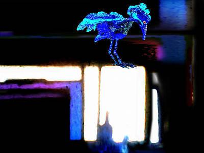 Bluebird Mixed Media - Bird Dreaming by Hartmut Jager