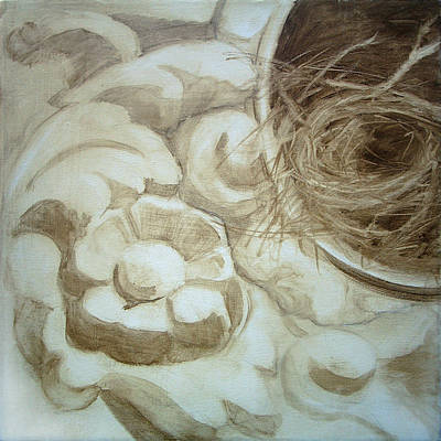 Painting - Bird Nest 2 by Kathryn Donatelli