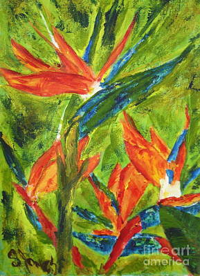 Painting - Bird Of Paradise by Shelley Jones