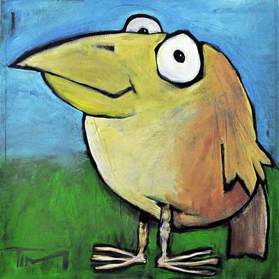 Painting - Bird by Tim Nyberg