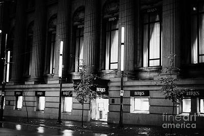 birks place originally the commerce bank hastings west Vancouver BC Canada Print by Joe Fox