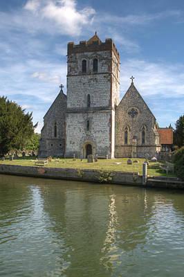 Photograph - Bisham Church by Chris Day