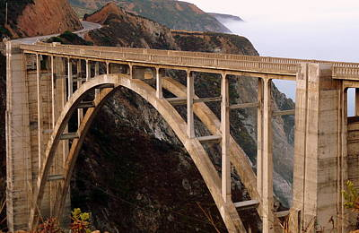 Photograph - Bixby Bridge by Jeff Lowe