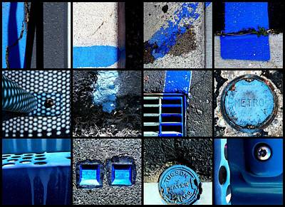 Photograph - Black And Blue by Marlene Burns