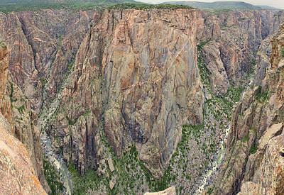 Photograph - Black Canyon Of The Gunnison by Gregory Scott