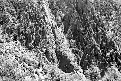 Photograph - Black Canyon Of The Gunnison Wall 4 by Mary Bedy