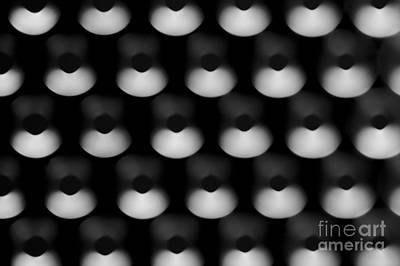 Photograph - Black Metal Holes by Jim Corwin