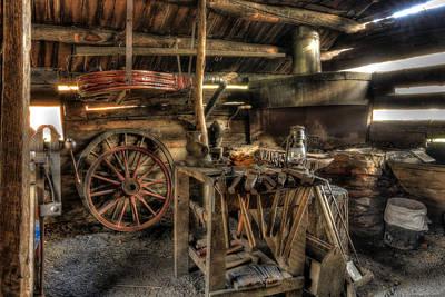 Photograph - Blacksmith Shop by Jaki Miller