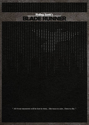 Blade Runner Art Print by Ayse Deniz