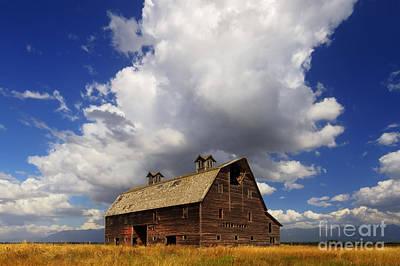 Historic Places Photograph - Blasdel Barn by Mark Kiver