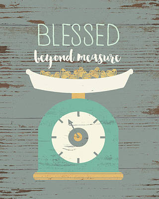 Painting - Blessed Beyond Measure by Jo Moulton