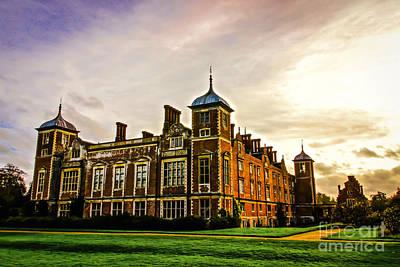 Photograph - Blickling Hall by David Warrington