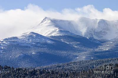 Photograph - Blizzard Peak by Steve Krull
