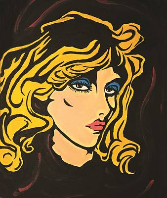 Painting - Blondie by Sheridan Furrer