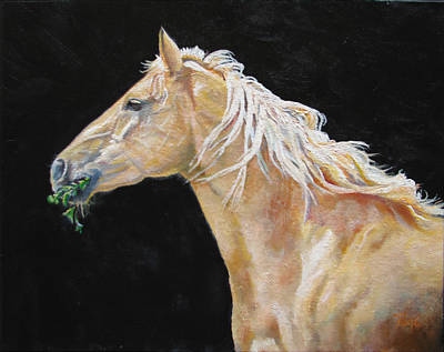 Painting - Blondy by Page Holland