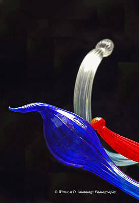 Photograph - Blown Glass By Dale Chihuly by Winston D Munnings