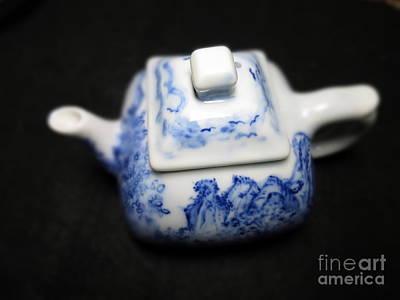 Blue And White Porcelain Art Print