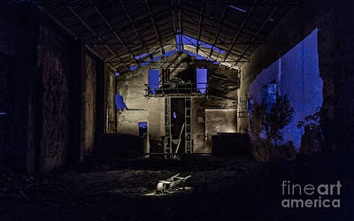 Photograph - Blue by Eugenio Moya