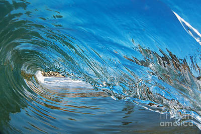 Art Print featuring the photograph Blue Glass by Paul Topp