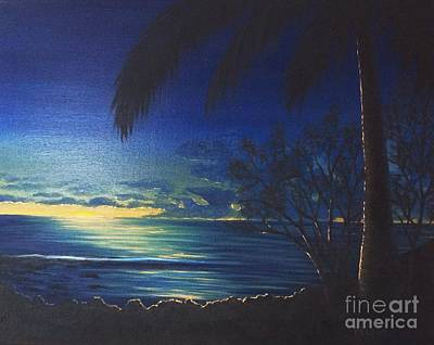 Painting - Blue Hawaii by Marlene Little