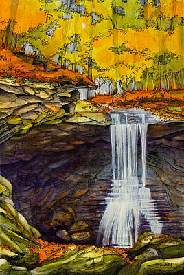 Blue Hen Falls Original by Dave Whited