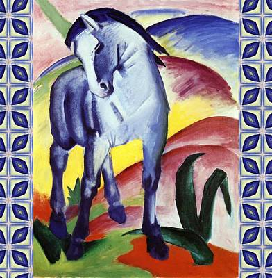 Painting - Blue Horse I by Franz Marc